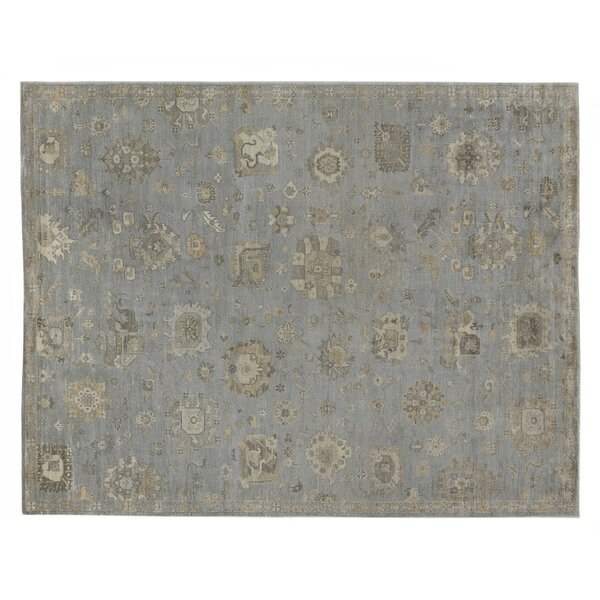 Museum Hand-Knotted Brown/Gray Area Rug by Exquisite Rugs