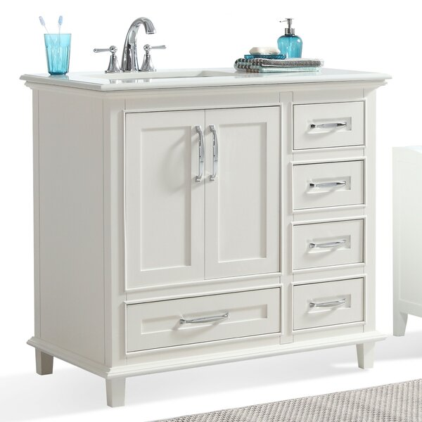 Ariana 37 Single Bathroom Vanity Set by Simpli Home