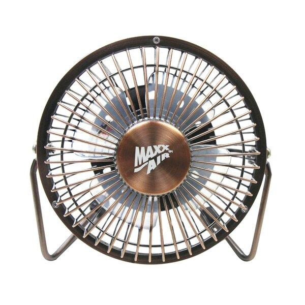 4 Table Fan with USB Plug by MaxxAir