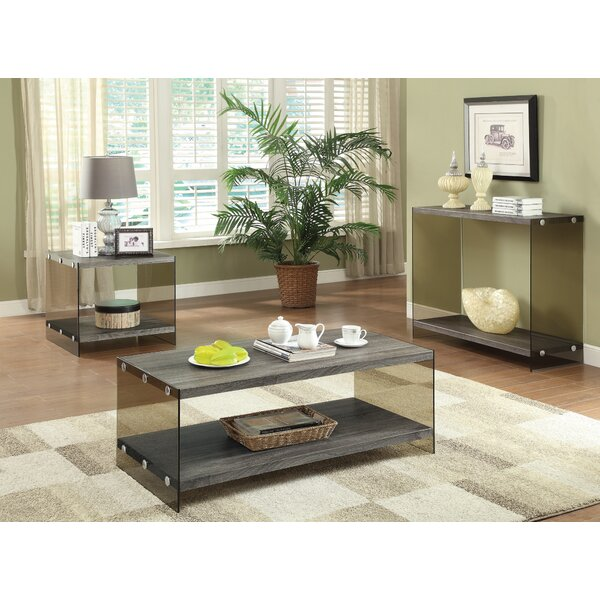 Timon Coffee Table Set by Mercury Row