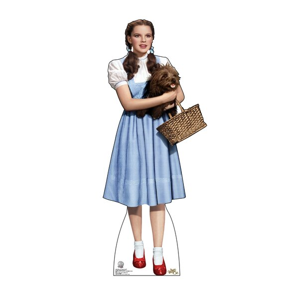 Dorothy Holding Toto - Wizard of Oz 75th Anniversary Cardboard Stand-Up by Advanced Graphics