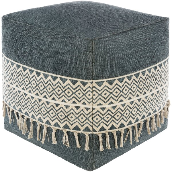Chaffin Pouf by Bungalow Rose Bungalow Rose