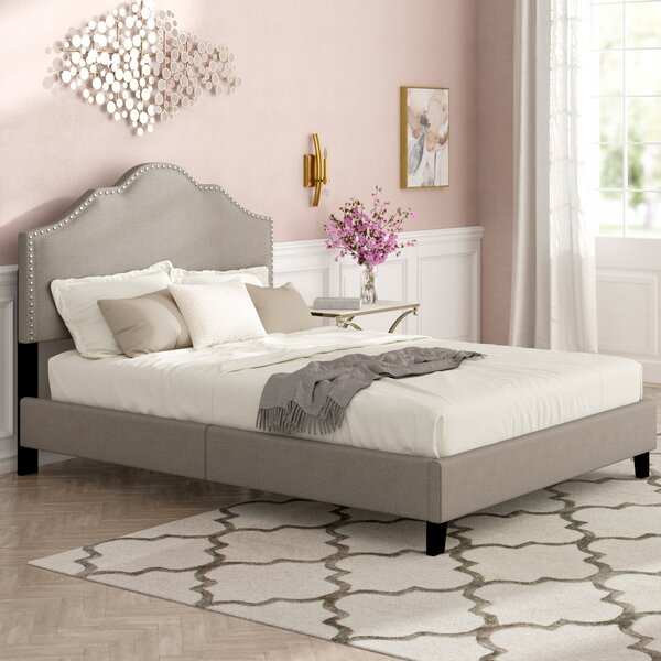 Reviews Parrish Rebecca Queen Upholstered Bed By Rosdorf Park Great Reviews