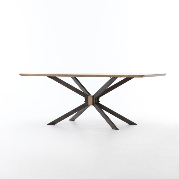 Sommer Spider Dining Table by 17 Stories