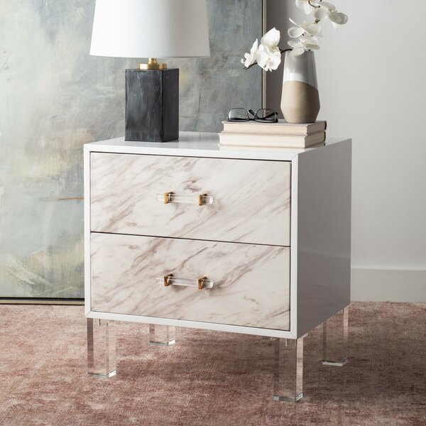 Purnell End Table with Storage by Everly Quinn Everly Quinn