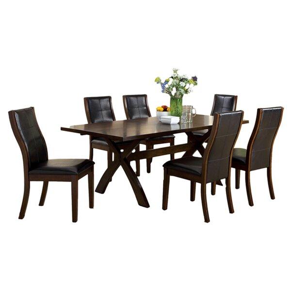 Wellington 7 Piece Extendable Dining Set by Hokku Designs