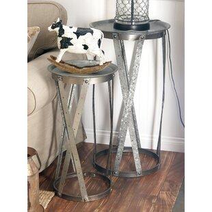 Buy luxury 2 Piece Tray Table Set ByCole & Grey