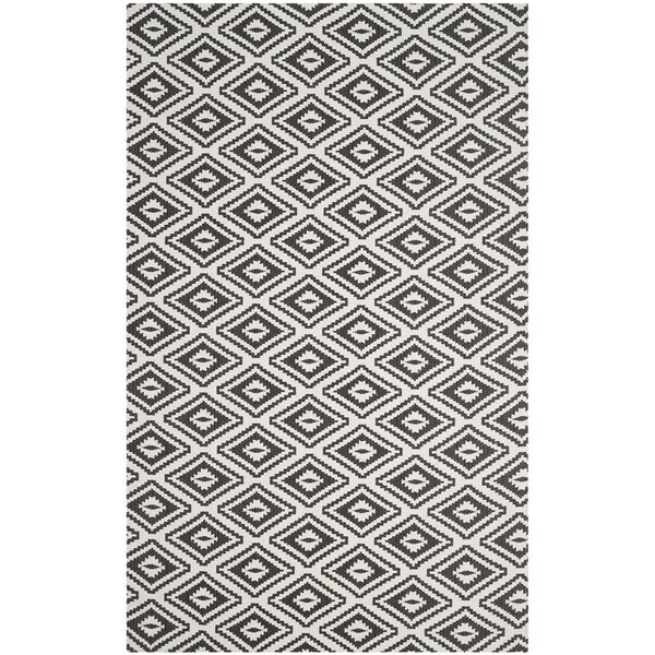 Mission Viejo Hand-Loomed Gray Area Rug by Langley Street