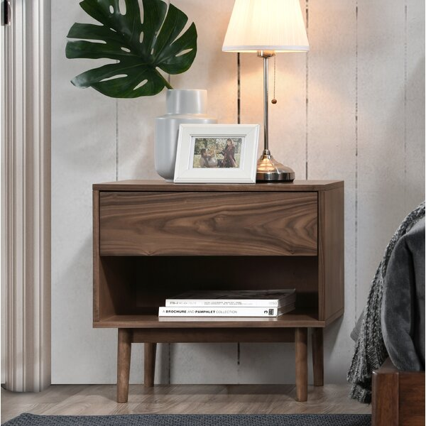 Maire 1 Drawer Nightstand by Foundry Select