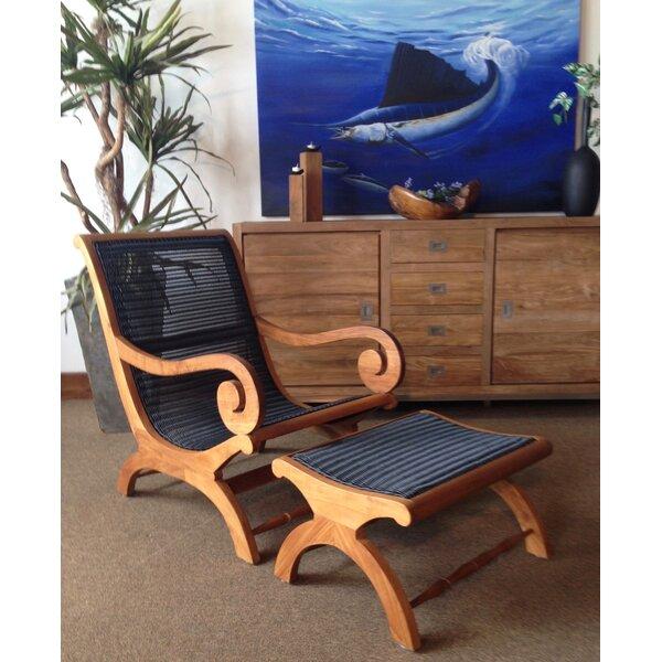 Colleen Teak Patio Chair by Fleur De Lis Living