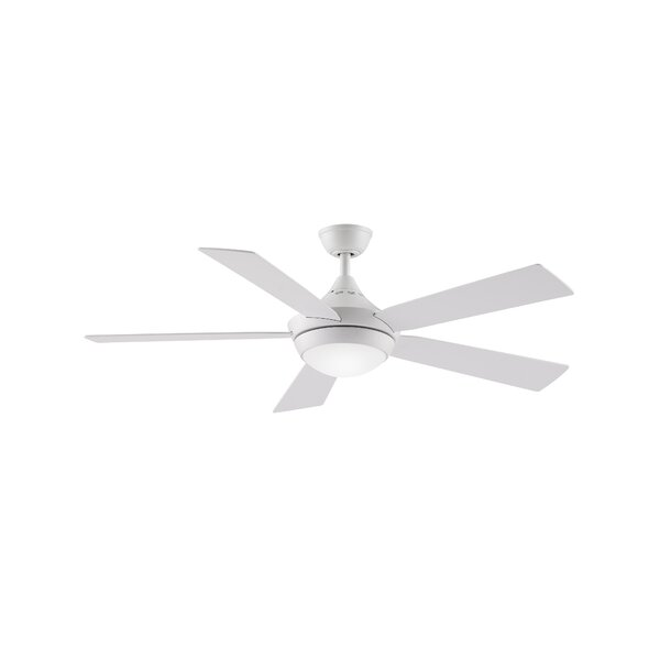 52 Darrion 5 Blade LED Ceiling Fan with Remote by Orren Ellis