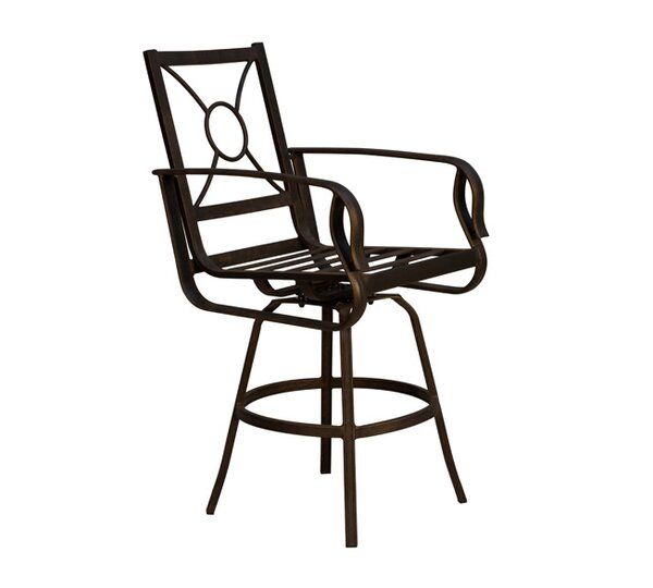 Westport Patio Bar Stool with Cushion by California Outdoor Designs