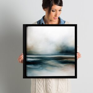 Beyond the Lonely Framed Painting Print on Canvas by Latitude Run