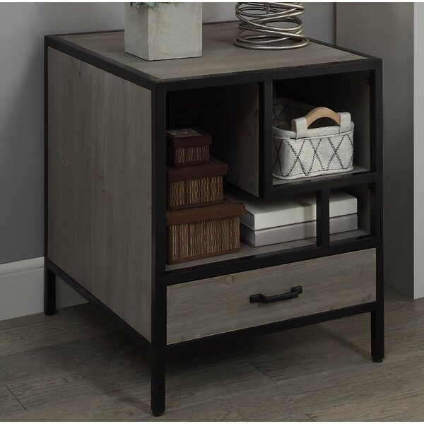 Axminster End Table with Storage by Brayden Studio