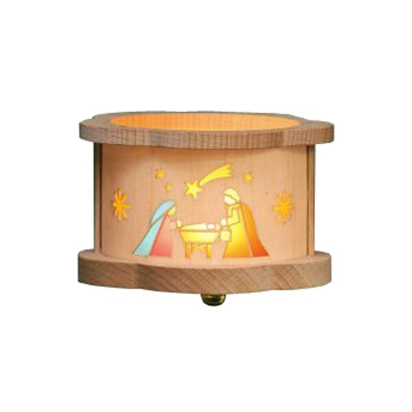 Richard Glaesser Nativity Luminary Tea Light by Alexander Taron
