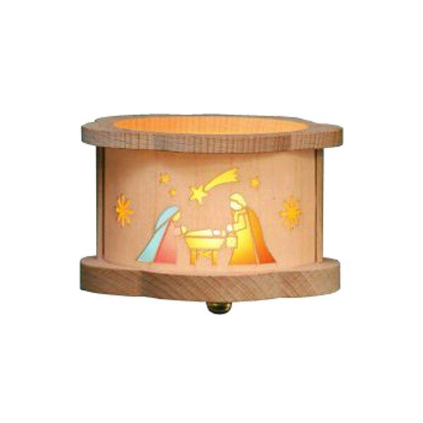 Richard Glaesser Nativity Luminary Tea Light by Alexander Taron