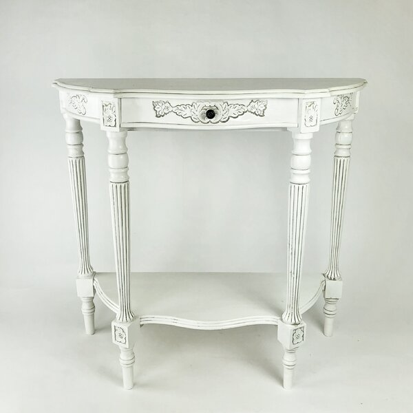 Briony Carved Console Table By Astoria Grand