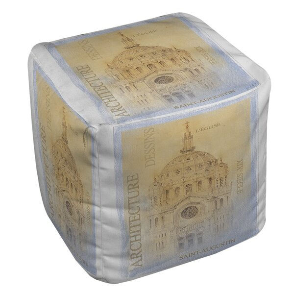 L'Eglise Pouf by Manual Woodworkers & Weavers