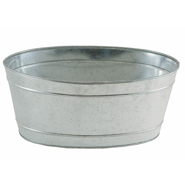 Weinberg Galvanized Beverage Tub by Gracie Oaks