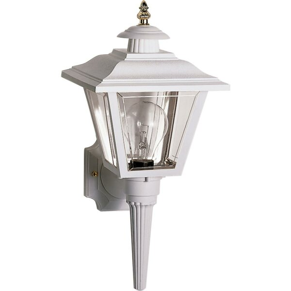 Halliday Outdoor 1-Light Aluminum Shade Lantern Head by Breakwater Bay