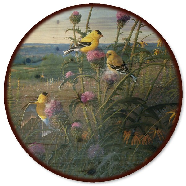 Golden Meadow Lazy Susan by WGI-GALLERY