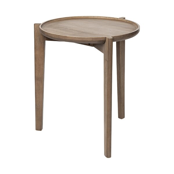 Springboro Solid Wood 3 Legs End Table By George Oliver