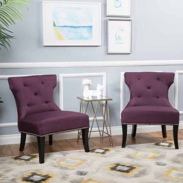 Moraga Slipper Chair (Set of 2) by Mercer41
