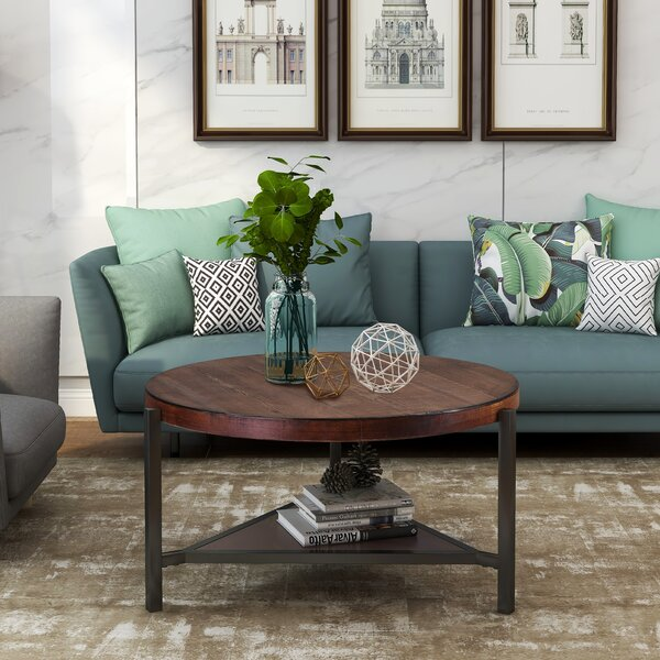 Meadville 3 Legs Coffee Table With Storage By Williston Forge