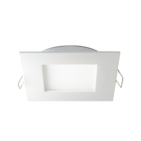 Panel 4K Square 4 Open Recessed Trim by DALS Lighting