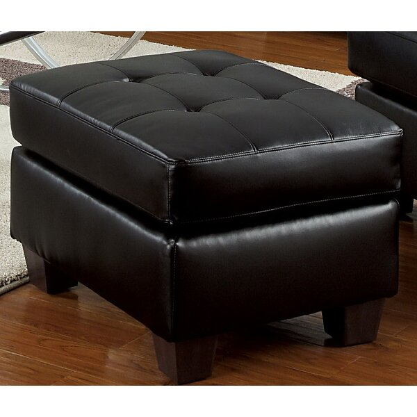 Locke Tufted Ottoman by Latitude Run