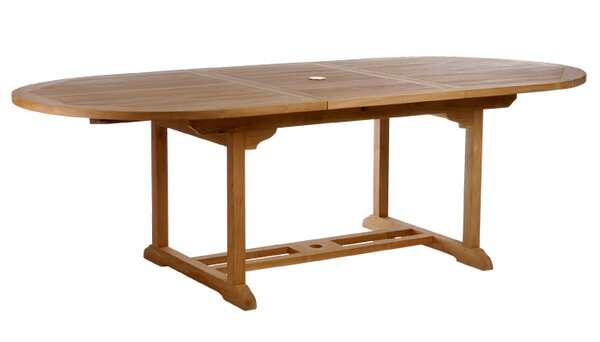 Quinlan Teak Extendable Dining Table by Darby Home Co