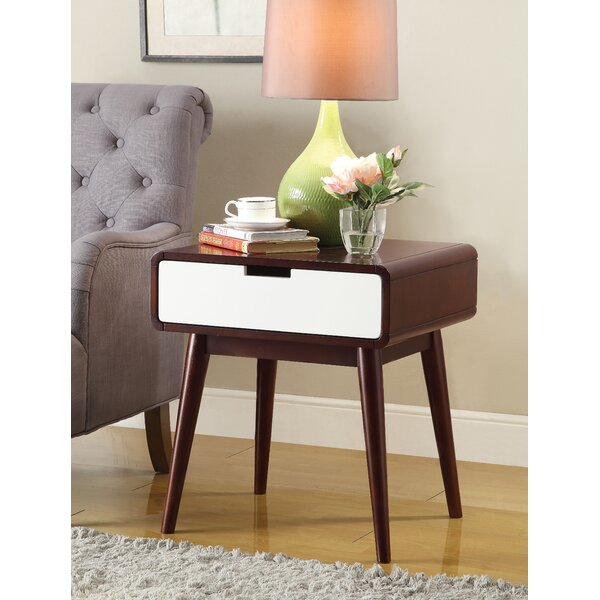 Buster End Table With Storage By George Oliver