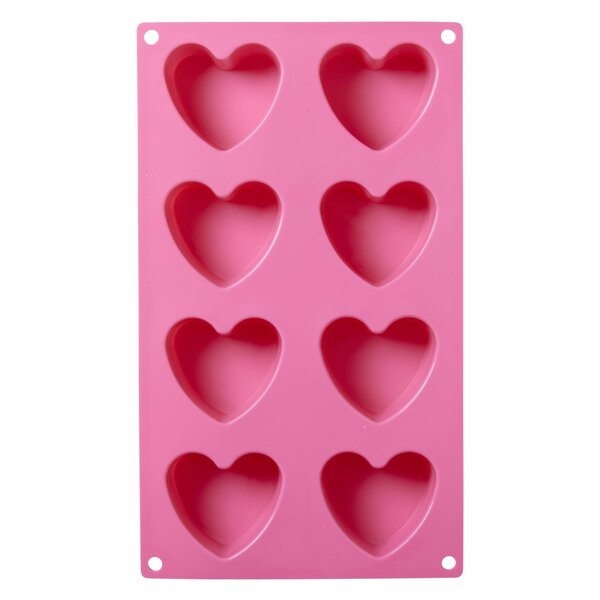 Silicone Heart Shaped Baking Mold by Rice