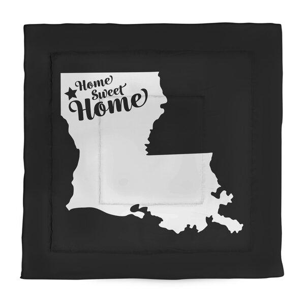 Home Sweet Shreveport Single Reversible Comforter