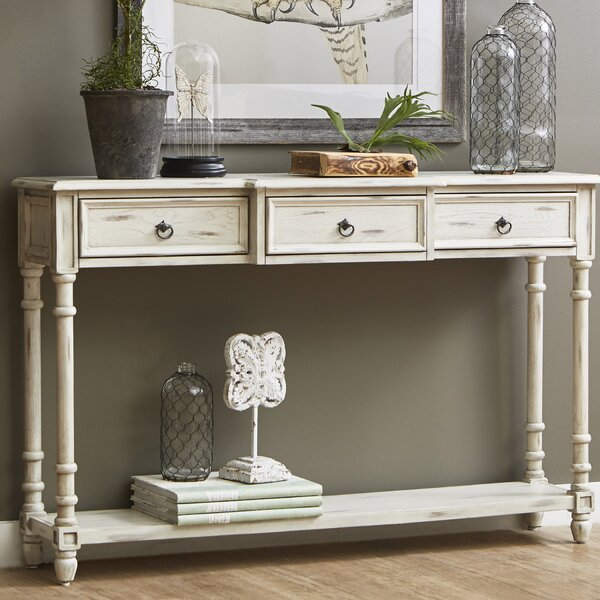 Console Table By Feminine French Country