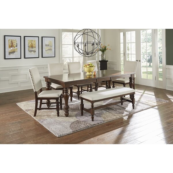Darby Home Co Yorkshire Extendable 7 Piece Dining Set Reviews