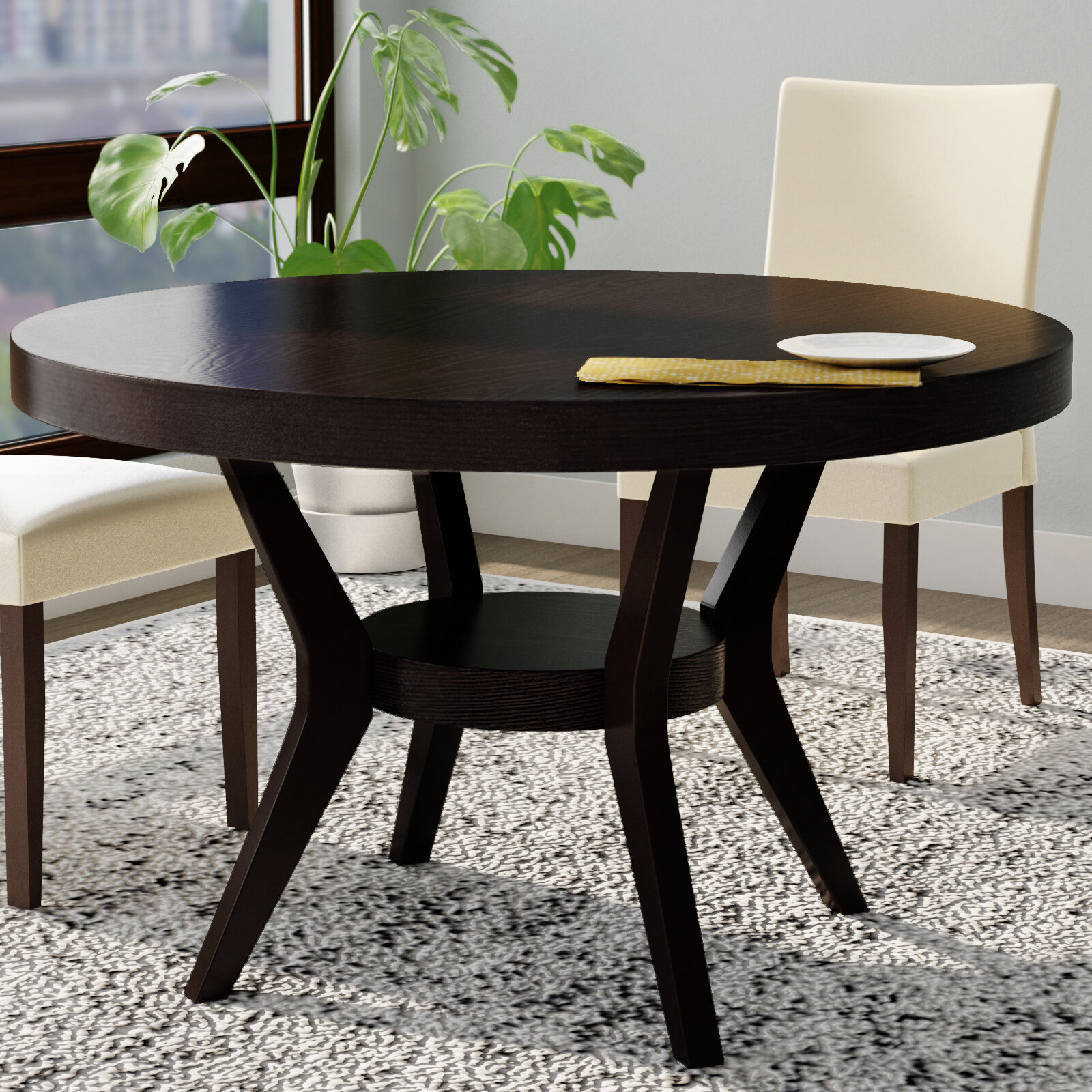 Latitude run connor transitional dining table reviews wayfair