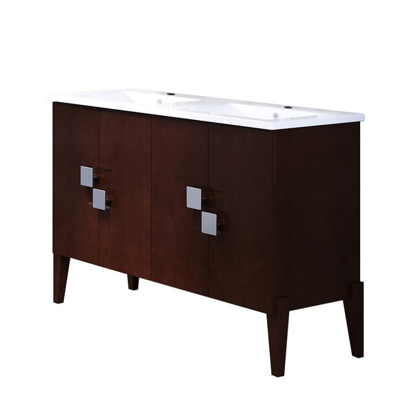 49 Double Bathroom Vanity Set by Bellaterra Home