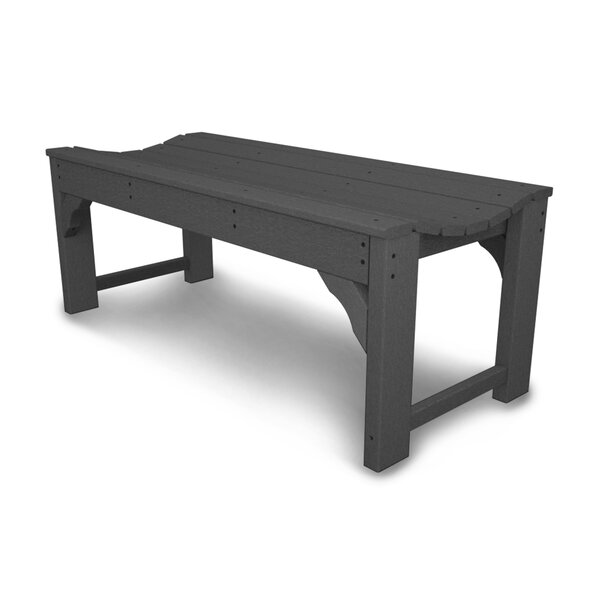Traditional Garden Backless Bench by POLYWOOD POLYWOOD®