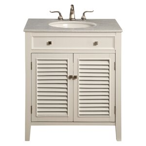 Jeremiah 30″ Single Bathroom Vanity Set