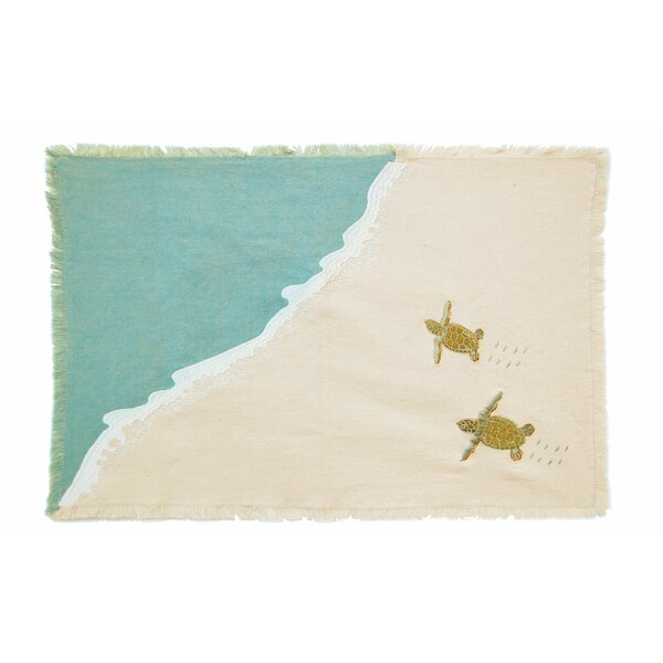 I Sea Life Placemat (Set of 4) by Rightside Design