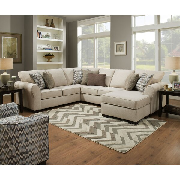 Herdon Sleeper Sectional by Alcott Hill