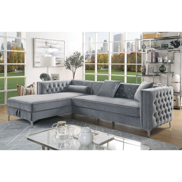 Best Price Ahearn Left Hand Facing Modular Sectional