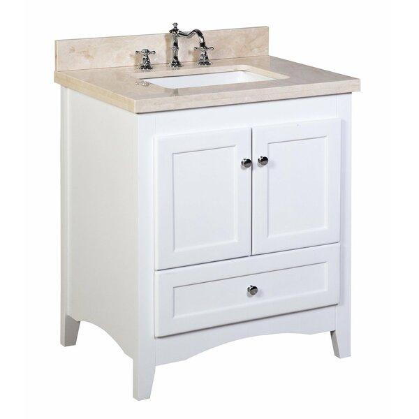 Abbey 30 Single Bathroom Vanity Set by Kitchen Bath Collection