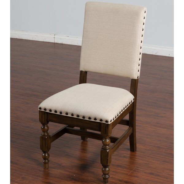 Birney Upholstered Dining Chair by Loon Peak