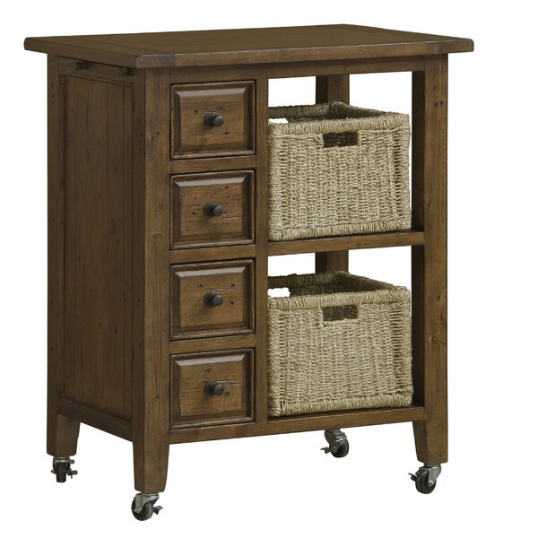 McAlester Kitchen Cart by Loon Peak