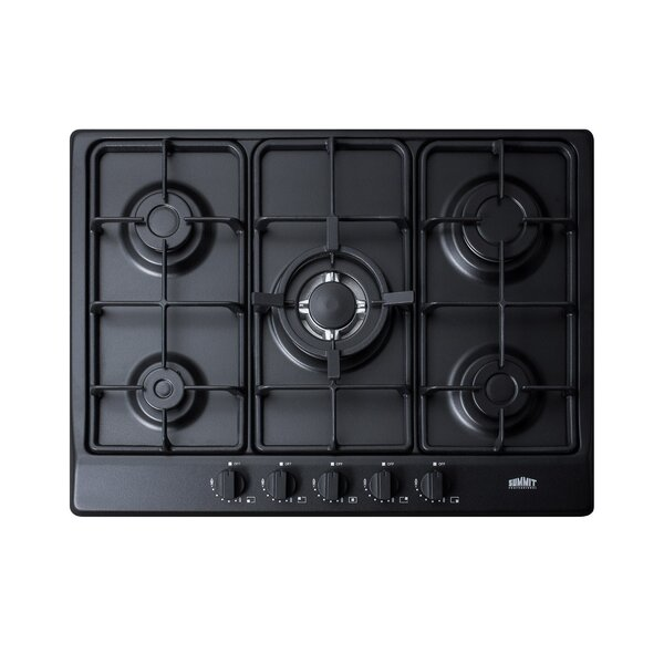 27 Gas Cooktop With 5 Burners by Summit Appliance