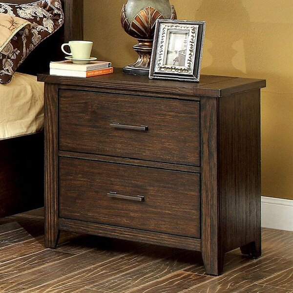 Dorothy  2 Drawer Nightstand By Union Rustic by Union Rustic Reviews
