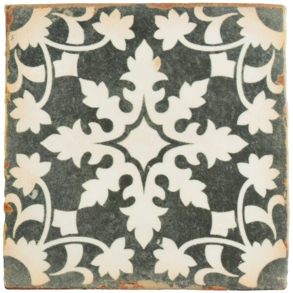 Arquivo 4.88 x 4.88 Ceramic Field Tile in Grey by EliteTile