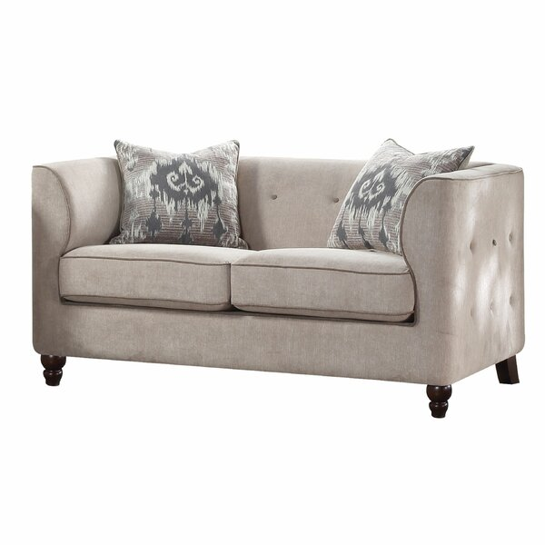 Hardee Loveseat by Bungalow Rose Bungalow Rose